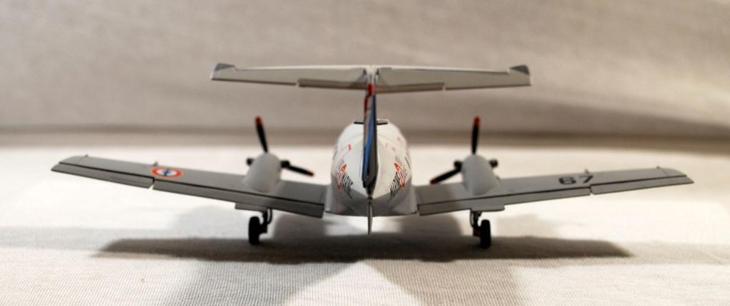 """Embraer EMB-121AN Xingu """"100ans Aéronautique Navale"""" (Amodel 72364) 1/72 0510"""