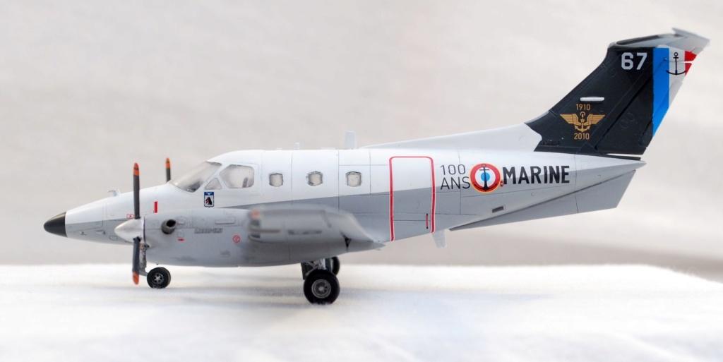 """Embraer EMB-121AN Xingu """"100ans Aéronautique Navale"""" (Amodel 72364) 1/72 0710"""