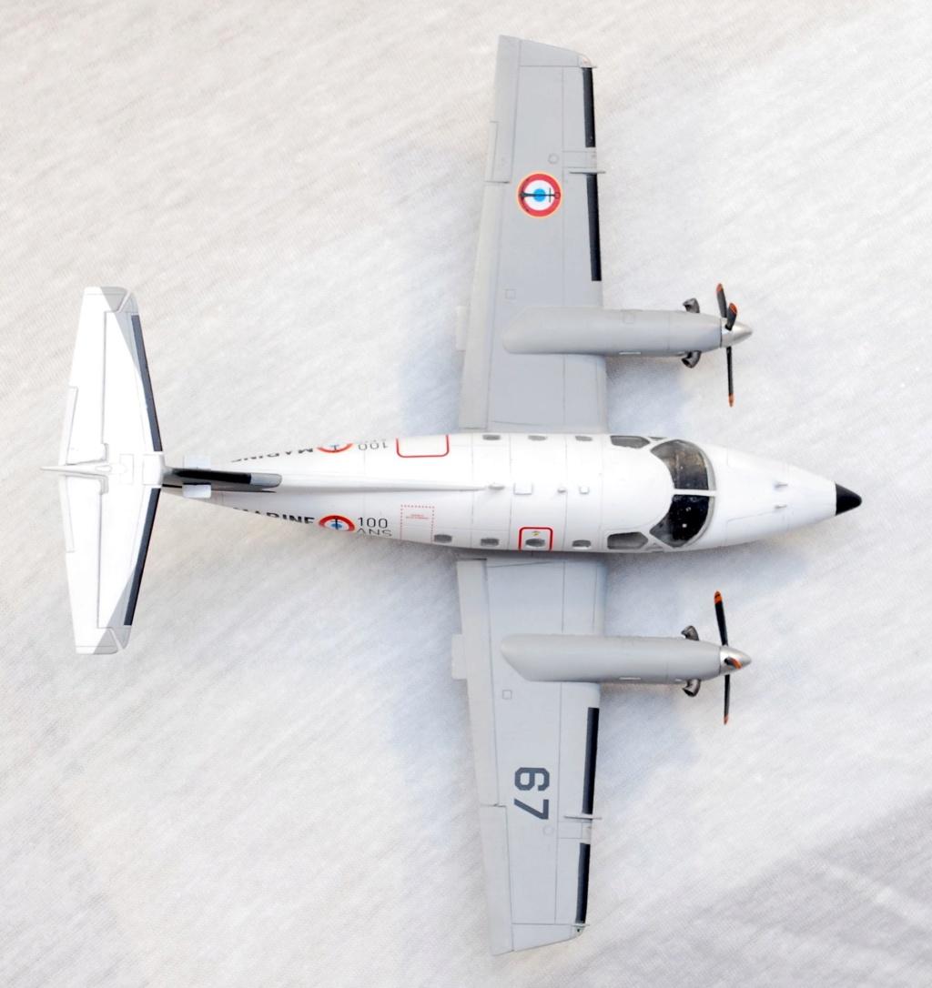 """Embraer EMB-121AN Xingu """"100ans Aéronautique Navale"""" (Amodel 72364) 1/72 0910"""