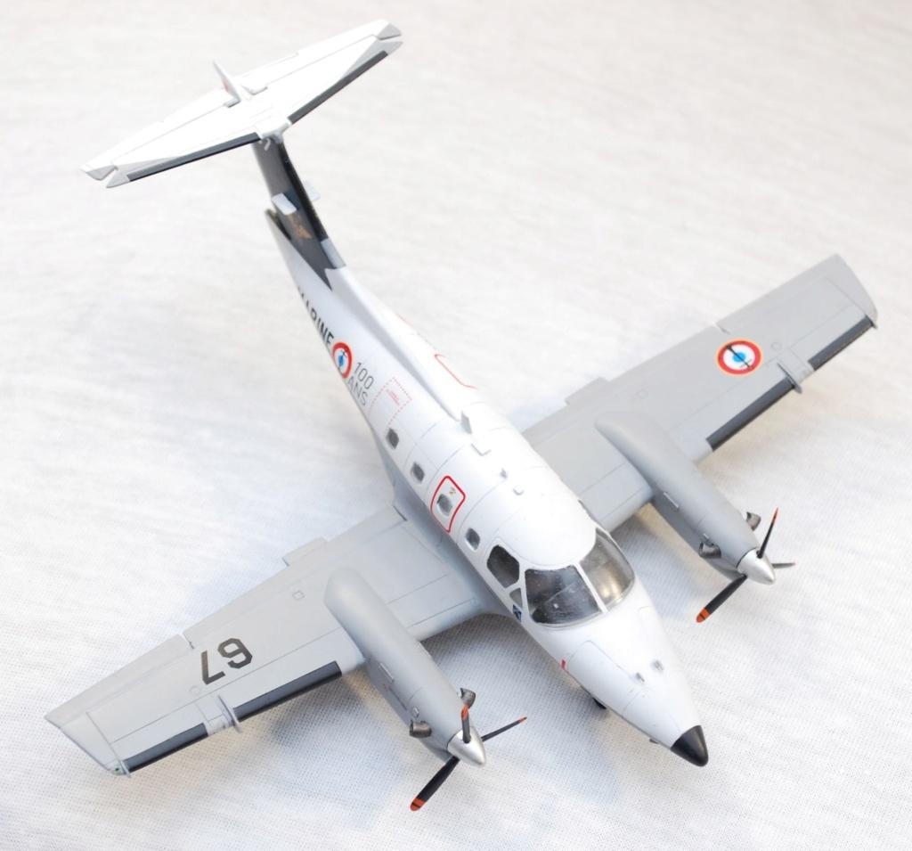 """Embraer EMB-121AN Xingu """"100ans Aéronautique Navale"""" (Amodel 72364) 1/72 1010"""