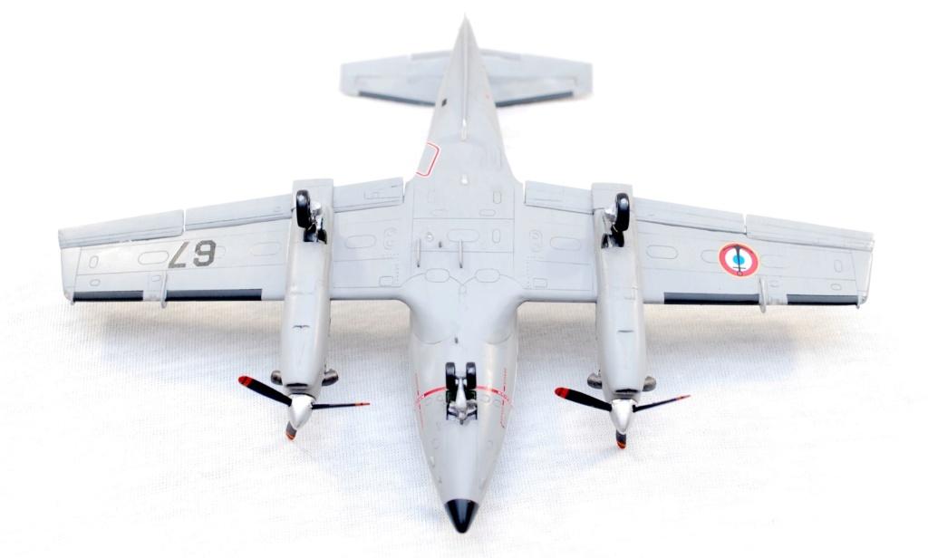 """Embraer EMB-121AN Xingu """"100ans Aéronautique Navale"""" (Amodel 72364) 1/72 1110"""
