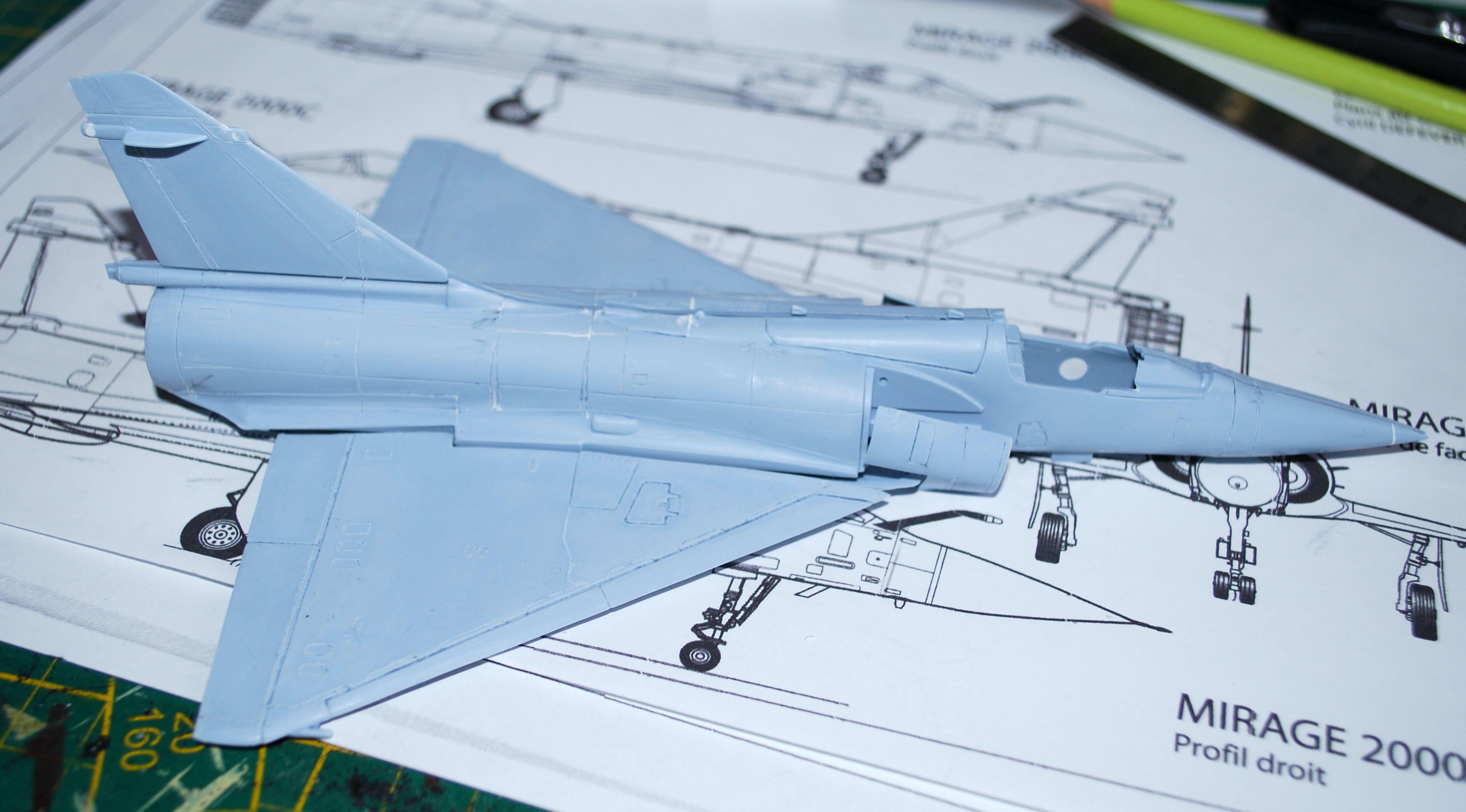 1/72 Mirage 2000-5F (Base 2000C) Heller 2000-511