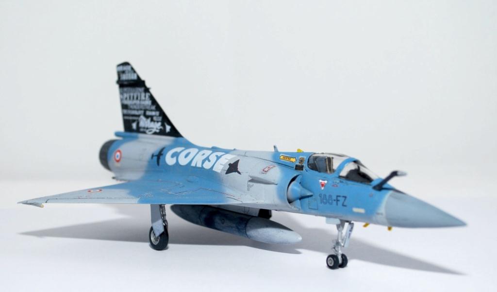 Mirage 2000-5F, 75ans EC 3/11 Corse, Heller 2000-522