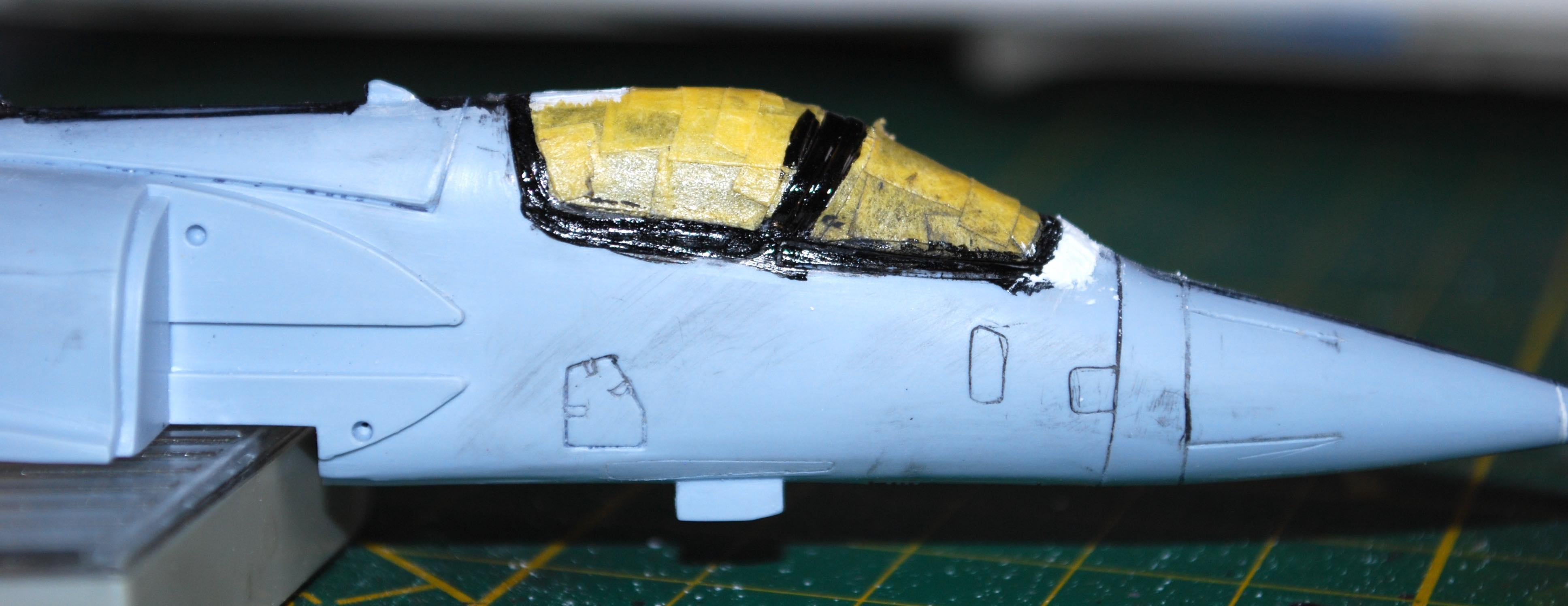 1/72 Mirage 2000-5F (Base 2000C) Heller Dsc_0292