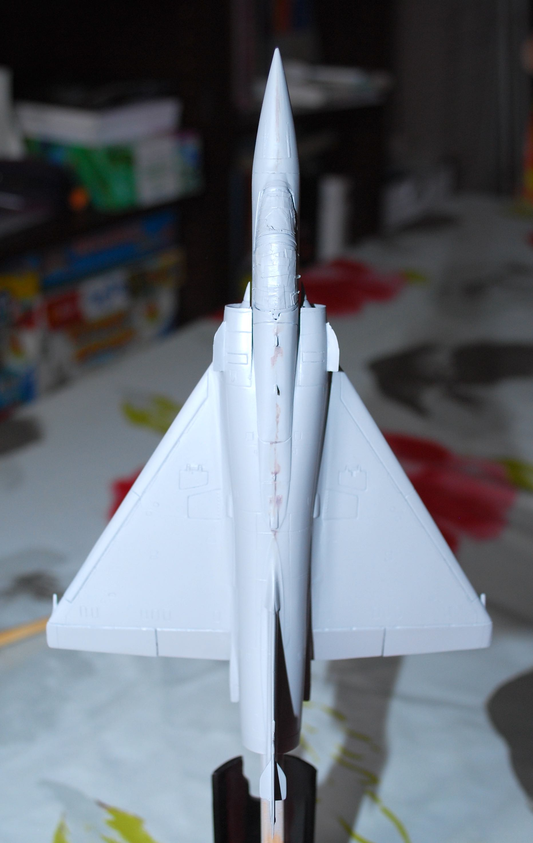 1/72 Mirage 2000-5F (Base 2000C) Heller Dsc_0306