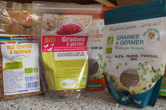 Les graines germées pour les nuls Graine20