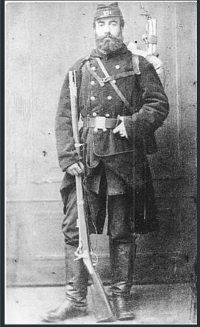 Corps francs de chasseurs - 1870 Cf10