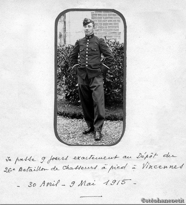 Jean Petit, officier du 102° B.C.P. 1916-1918. Jp1010