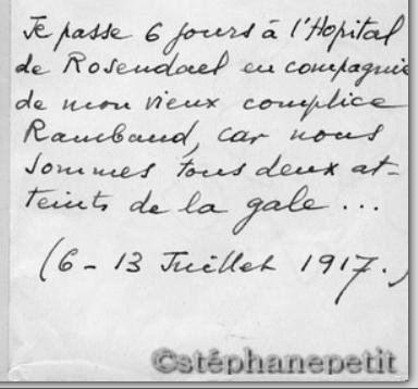 Jean Petit, officier du 102° B.C.P. 1916-1918. Jp104b10