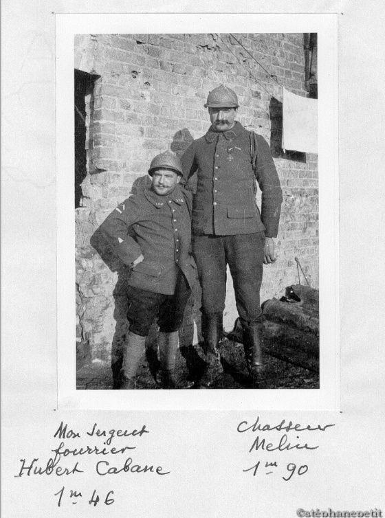 Jean Petit, officier du 102° B.C.P. 1916-1918. Jp10810