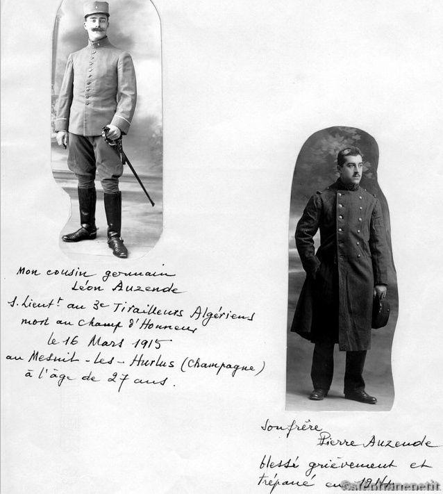 Jean Petit, officier du 102° B.C.P. 1916-1918. Jp11914