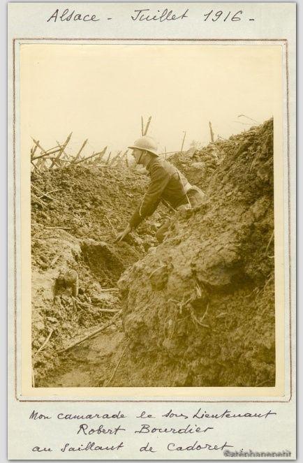 Jean Petit, officier du 102° B.C.P. 1916-1918. Jp12014