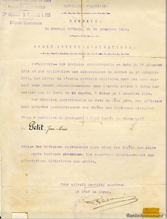 Jean Petit, officier du 102° B.C.P. 1916-1918. Jp1210