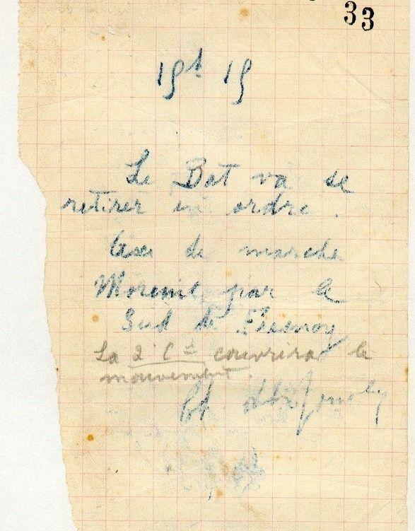 Jean Petit, officier du 102° B.C.P. 1916-1918. Jp12213