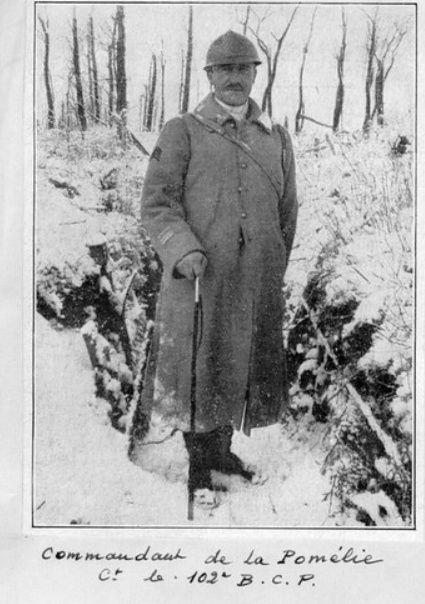 Jean Petit, officier du 102° B.C.P. 1916-1918. Jp12314