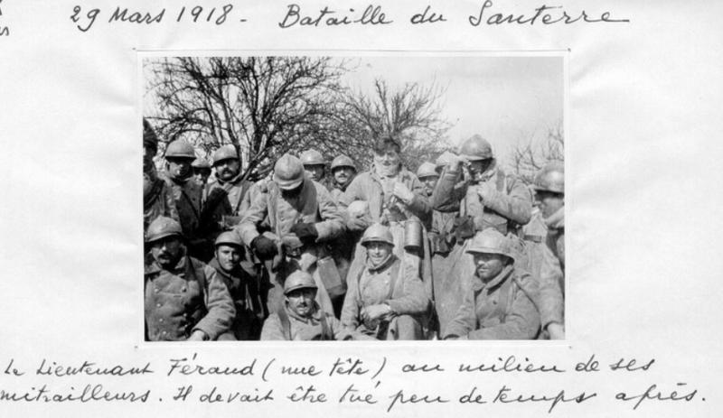 Jean Petit, officier du 102° B.C.P. 1916-1918. Jp12413