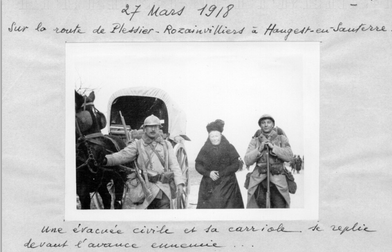 Jean Petit, officier du 102° B.C.P. 1916-1918. Jp12414