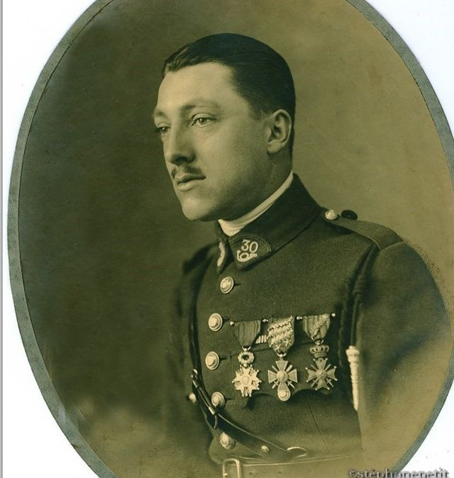 Jean Petit, officier du 102° B.C.P. 1916-1918. Jp12614