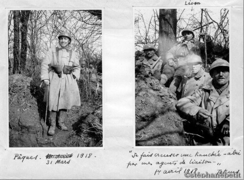 Jean Petit, officier du 102° B.C.P. 1916-1918. Jp12712