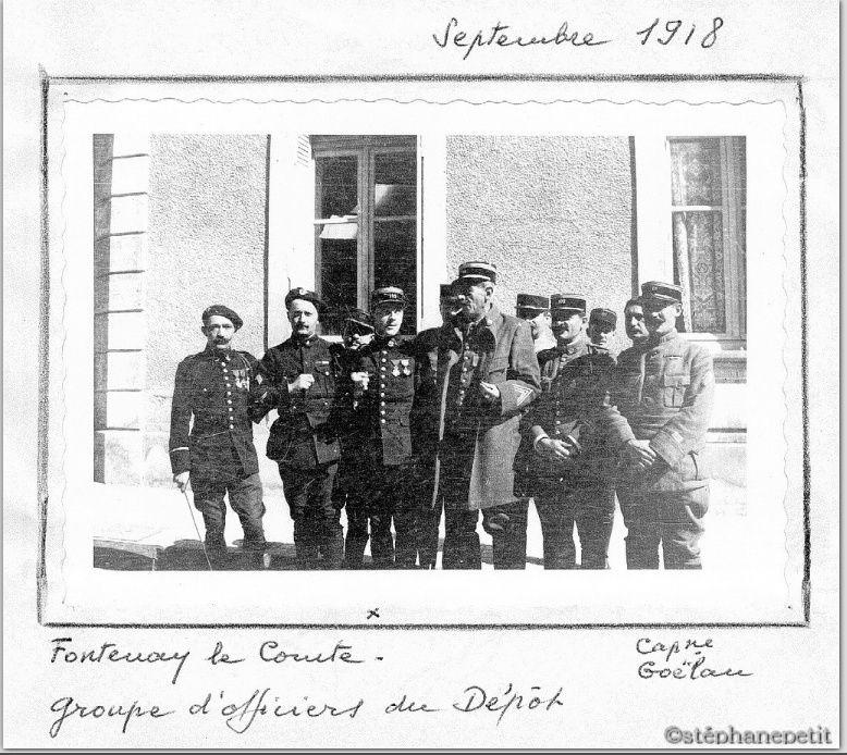 Jean Petit, officier du 102° B.C.P. 1916-1918. Jp13211
