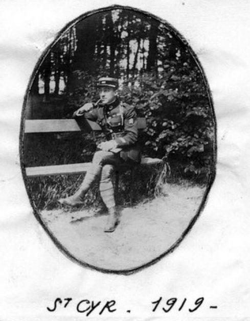 Jean Petit, officier du 102° B.C.P. 1916-1918. Jp13710