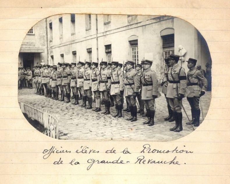 Jean Petit, officier du 102° B.C.P. 1916-1918. Jp14110