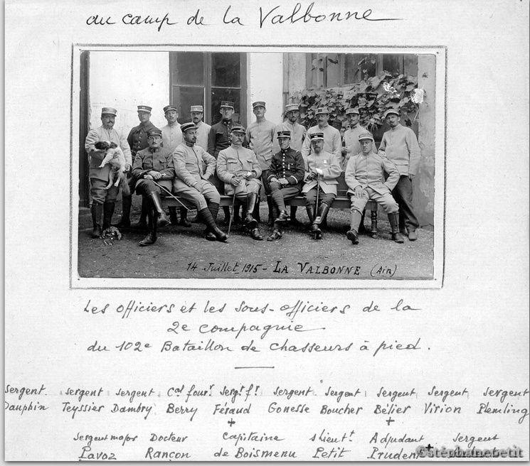 Jean Petit, officier du 102° B.C.P. 1916-1918. Jp1510