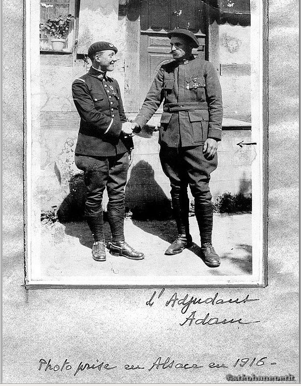 Jean Petit, officier du 102° B.C.P. 1916-1918. Jp2310
