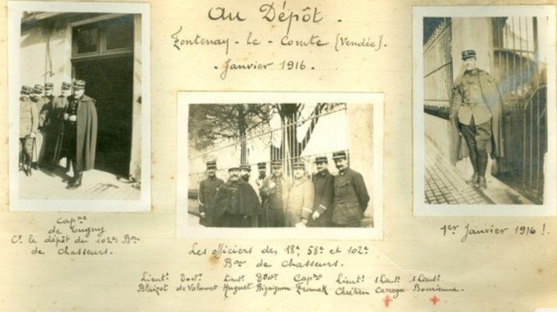 Jean Petit, officier du 102° B.C.P. 1916-1918. Jp2811