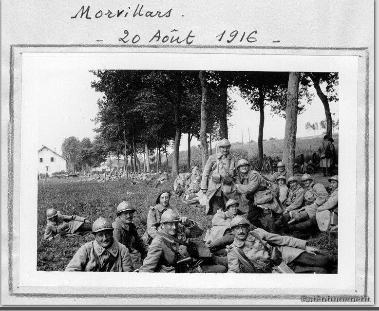 Jean Petit, officier du 102° B.C.P. 1916-1918. Jp5110
