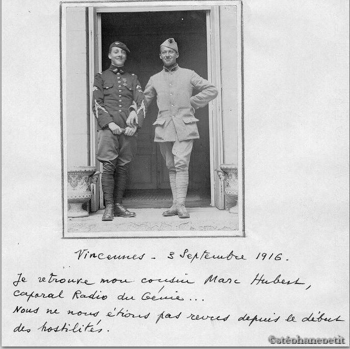 Jean Petit, officier du 102° B.C.P. 1916-1918. Jp5210