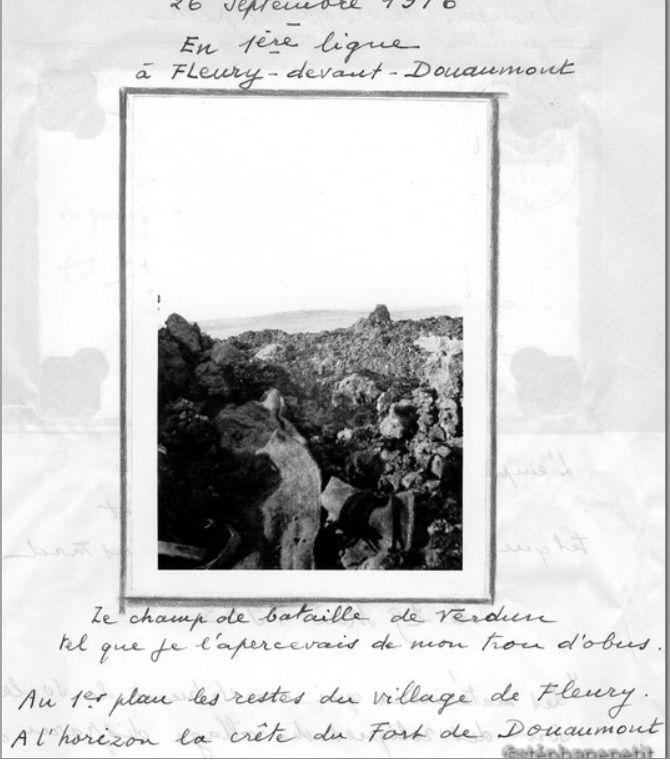 Jean Petit, officier du 102° B.C.P. 1916-1918. Jp5610