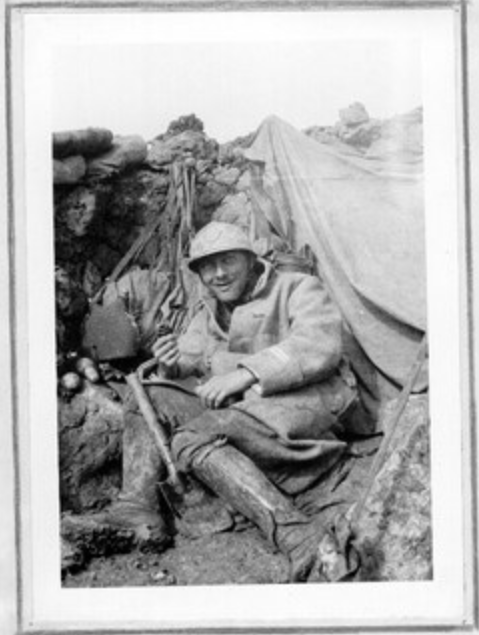 Jean Petit, officier du 102° B.C.P. 1916-1918. Jp6111