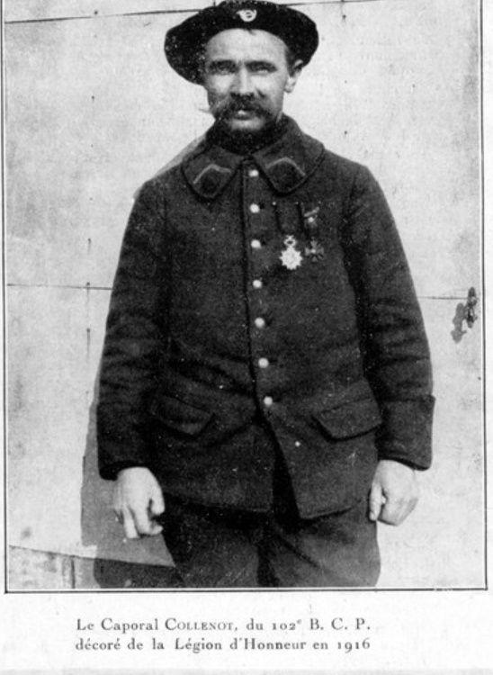 Jean Petit, officier du 102° B.C.P. 1916-1918. Jp6411