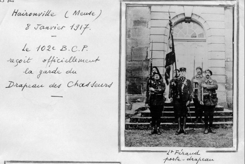Jean Petit, officier du 102° B.C.P. 1916-1918. Jp8110