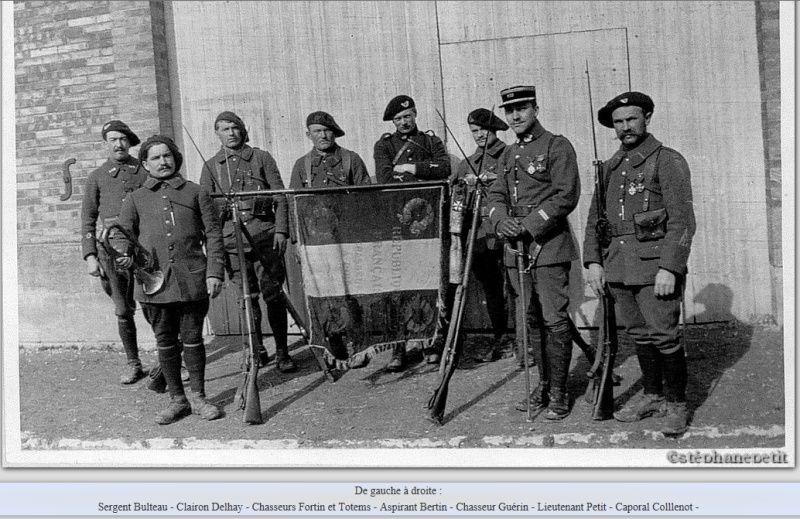 Jean Petit, officier du 102° B.C.P. 1916-1918. Jp81b11
