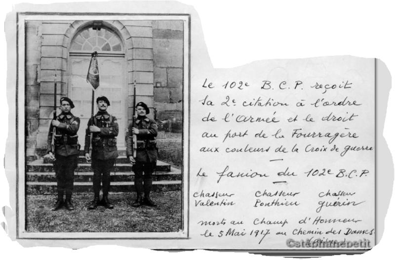 Jean Petit, officier du 102° B.C.P. 1916-1918. Jp8211