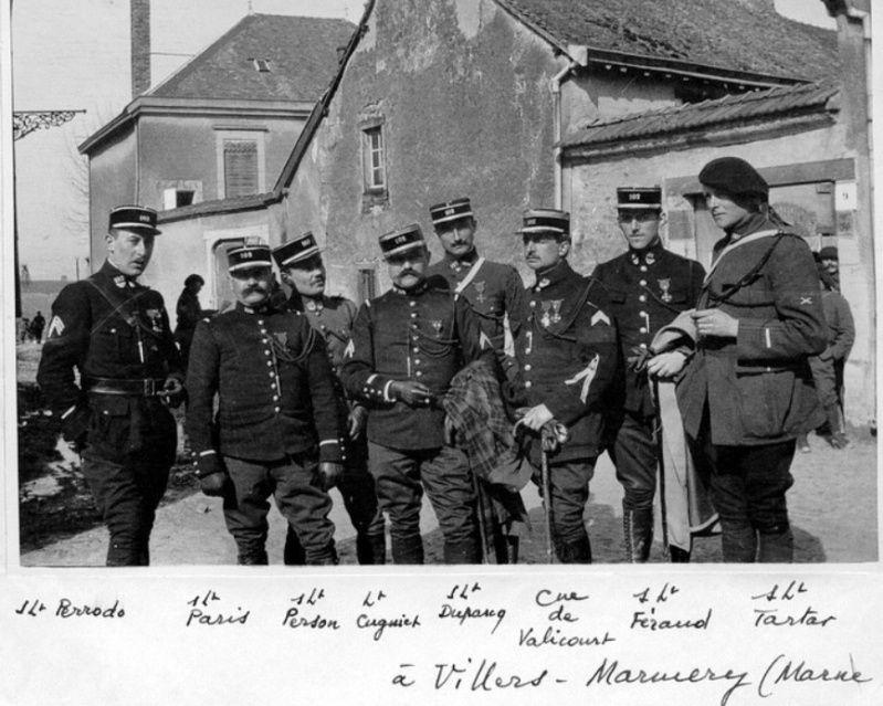 Jean Petit, officier du 102° B.C.P. 1916-1918. Jp8410