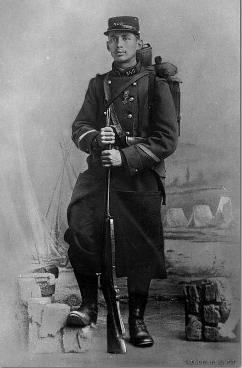 Jean Petit, officier du 102° B.C.P. 1916-1918. Jp910