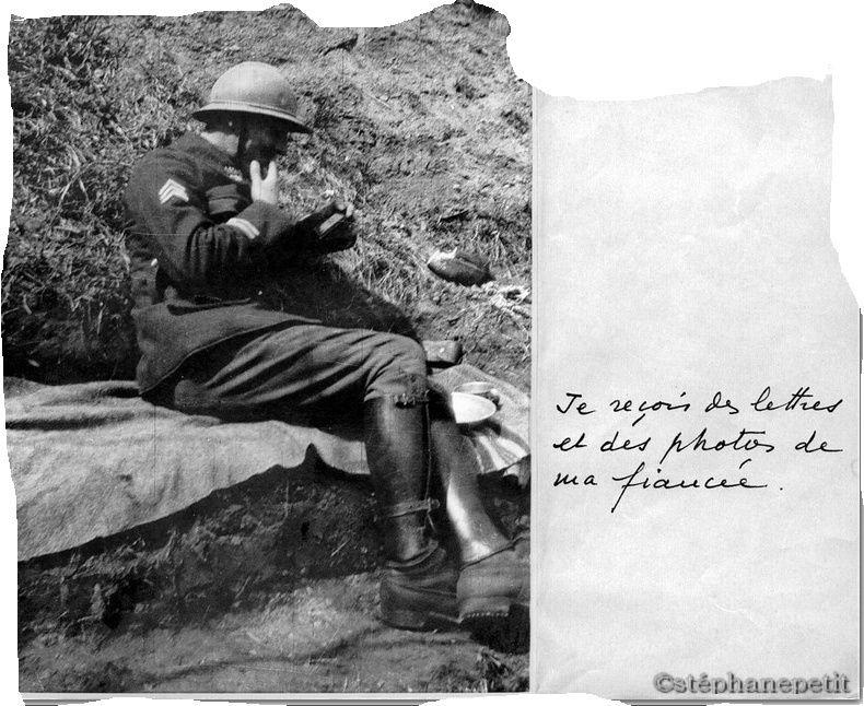 Jean Petit, officier du 102° B.C.P. 1916-1918. Jp9110
