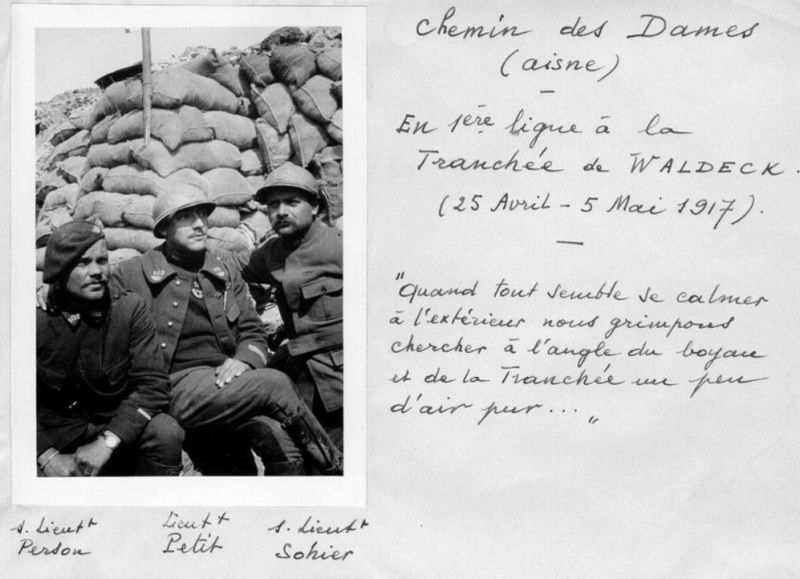 Jean Petit, officier du 102° B.C.P. 1916-1918. Jp9310