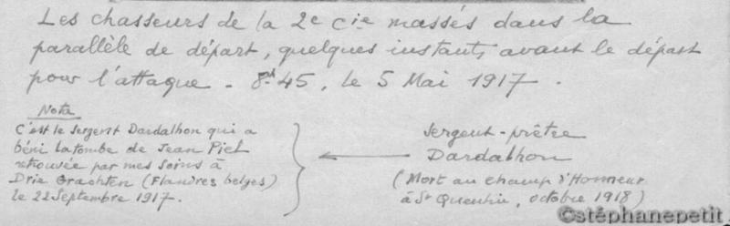 Jean Petit, officier du 102° B.C.P. 1916-1918. Jp95b10