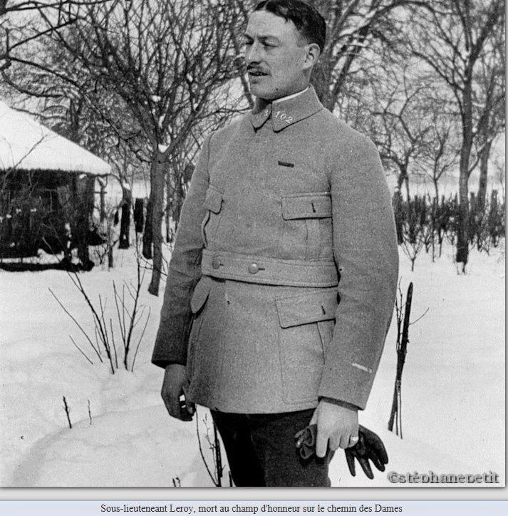 Jean Petit, officier du 102° B.C.P. 1916-1918. Jp9710