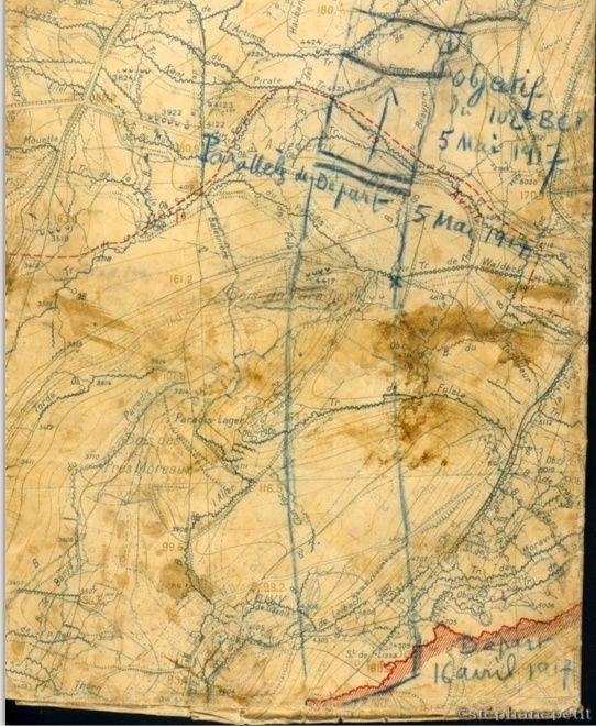Jean Petit, officier du 102° B.C.P. 1916-1918. Jp9810