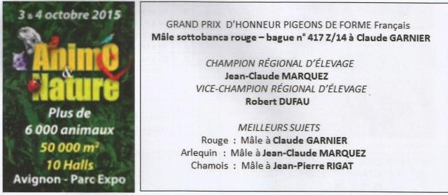 Championnat région sud-est organisé à AVIGNON (source bulletin N°120) Scane_10
