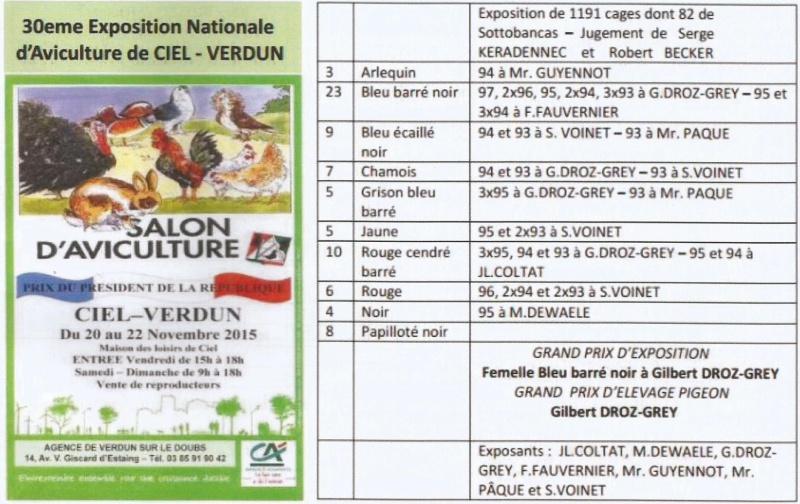 30éme exposition Nationale d' aviculture de VERDUN (source le bulletin N° 120)  Scane_11