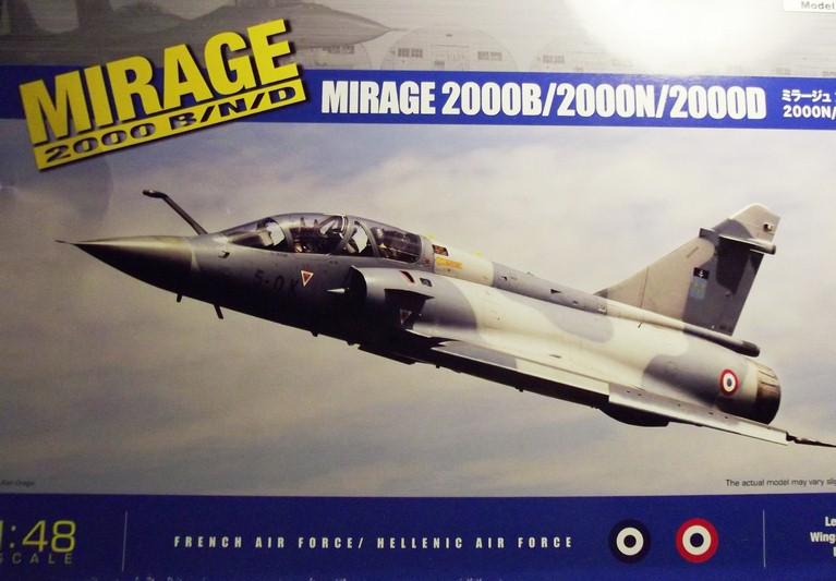 MIRAGE 2000 D KINETIC 1/48 Dscf4218