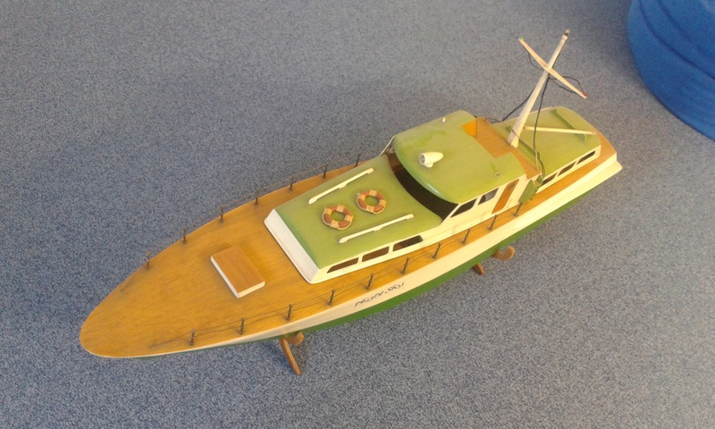 Modellboot auf aktuellen Stand bringen... 20160810