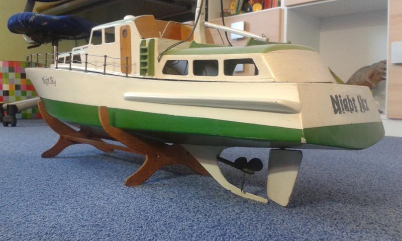 Modellboot auf aktuellen Stand bringen... 20160812