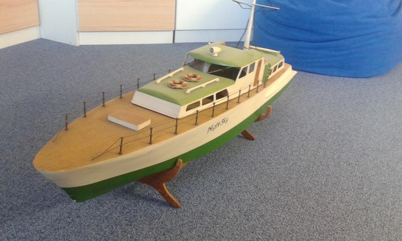 Modellboot auf aktuellen Stand bringen... 20160813